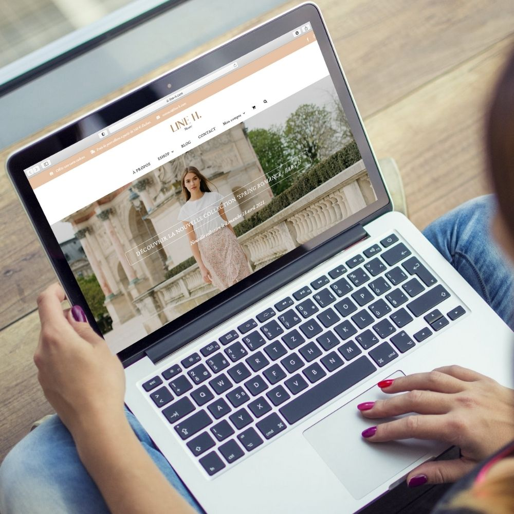 Site e-commerce - ordinateur